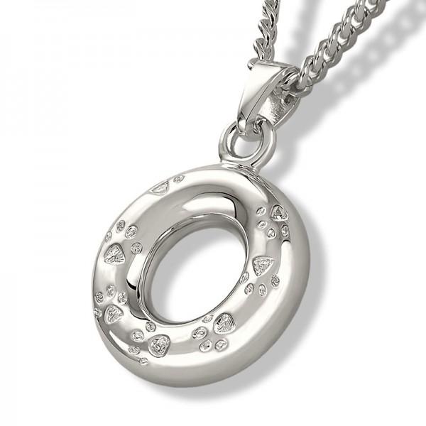 Erinnerungsschmuck Ring mit Pfote