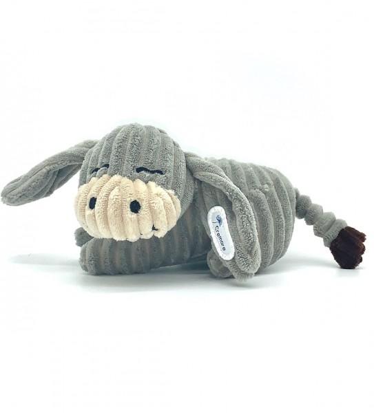 Erich, der Cremare-Esel liegend